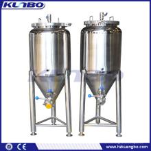 Konischer Behälter des Edelstahl-200L für das Biermaischen / -fermentieren