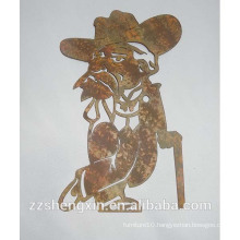 Metal Handicraft Wall Decoration for Home
