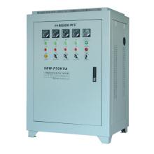 Трехфазный трехфазный многофазный стабилизатор серии SBW-F Полноавтоматический компенсационный стабилизатор напряжения 50k