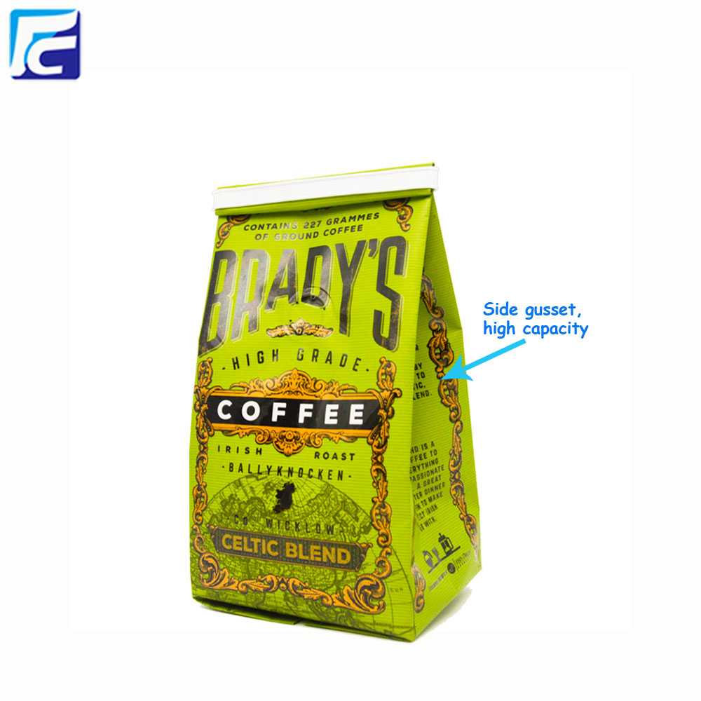 Custom printing coffee bags