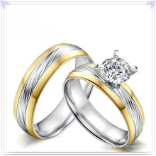 Crystal Jewelry Fashion Accessories Stainless Steel Ring (SR807)