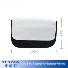 Hot Model DIY Sublimation Blank Canvas Pencil Bag Pencil Case with Printable Flap