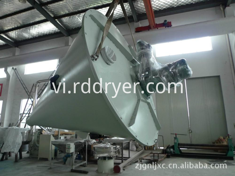 Double Screw Conical Mixer