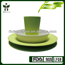 new arrival biodegradable fiber tableware set