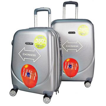 "Mala ABS 20 ""24"" 28 ""Inch Trolley Bag Bagagem de viagem expansível"
