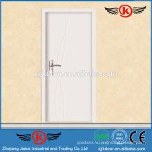 JK-P9063 белый грубый интерьер pvc mdf двери для скрытой панели для кухонного шкафа