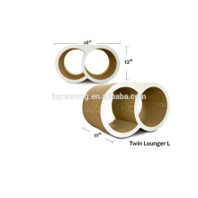 Hot Selling high strength combined double ring type cat climbing frame cat tree double blessing ring CT-4023