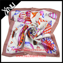 Handmade Silk Scarf Wholesale China Manufacturing Silk Scarf 90 90