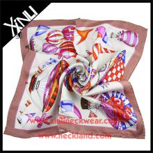 Handmade Silk Scarf Wholesale China Manufacturing Silk Scarf 90 90