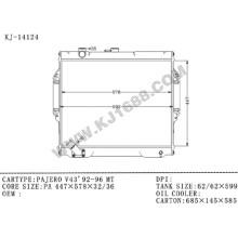 Radiador automático de alta calidad para Pajero V43'92-96 PA32 / Mt