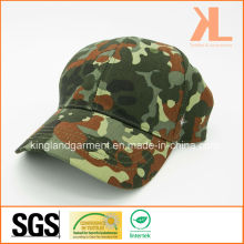 Baumwollbohrgerät-Armee / Militär-Olivgrün-Tarnungs-Druck-Baseballmütze