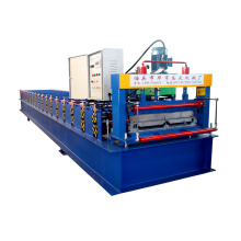 low price Color Metal steel sheet Joint Hidden Roof Panel Roll Forming Machine