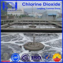 Échantillon gratuit de traitement de l'eau de haute qualité, traitement chimique du dioxyde de chlore