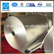 Papel aluminio de calidad alimentaria 8011 1235 8079 para envolver chocolate, para bolsa de té, para bolsa de yogur