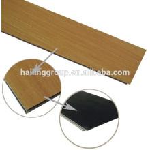 Vente chaude cliquez plancher de vinyle revêtement de sol en pvc