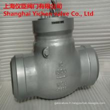 Joint de pression 1500lb/10po forgé en acier clapet
