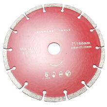 "7"" segment dry cut blade diamond"