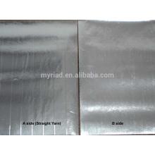 Papel de aluminio de doble cara, Revestimiento de doble cara de lámina-Kraft-Kraft, Material de aislamiento de lámina de aluminio