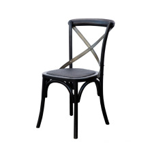 Chaise de salle à manger en noir