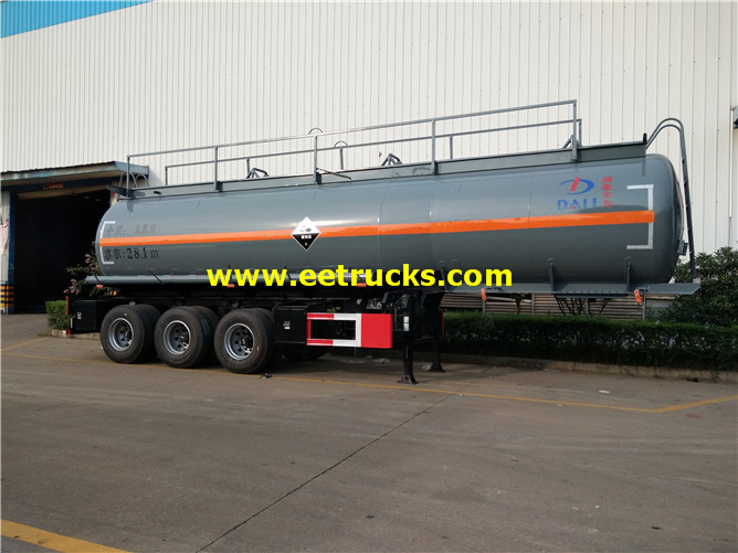 3 axles HCl Delivery Semi-Trailers