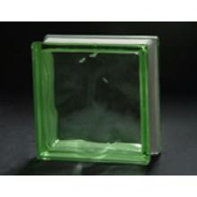 190 * 190 * 80mm grüner bewölkter Glasblock mit AS / NZS 2208