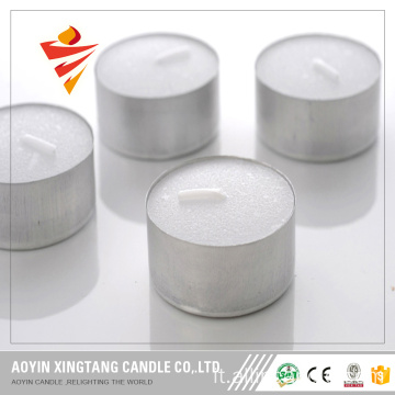 Candela Tealight Time 4 ore di Burning con Prssed