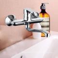 Новый дизайн продукта сантехника латунь горячая холодная двойная кухня водопроводный кран