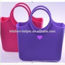 Saco Eco-Friendly dos materiais Saco de borracha Saco do saco do silicone O