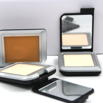 Single Colour Compact Powder Pressed Powder With Mirror