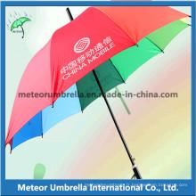Qualité automatique Open Rainbow Promotion Gift Umbrellas