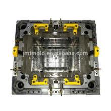 Molde plástico del cajón del molde del transporte del piso de la lata modificado para requisitos particulares del funcionamiento
