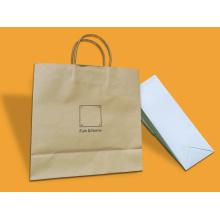 New Design Custom Cmyk Kraft Paper Gift Bag /Paper Shopping Bag