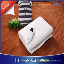 Couverture électrique avec contrôleur d'ajustement informatique pour massage