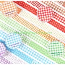 Plaid Basic Style Decoration Paper Tape