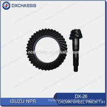 Genuine Auto Spare Parts NPR Crown Wheel Pinion Gear 7:41 DX-26
