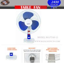 16-ти дюймовый настольный вентилятор с базовой моделью Spuare