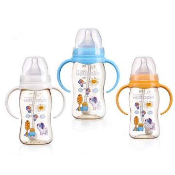 8oz PPSU Baby Nursing Bottle Dengan Wide Neck