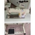 Computer Controlled Direct Drive Single Needle Lockstitch Sewing Machine