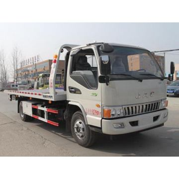 รถบรรทุกถนน JAC Flat Two-in-one Road Wrecker Truck