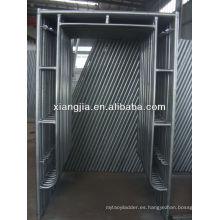 sistema de marco modular de aluminio