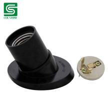 Bulb Holder Lamp Base E27 Tilted Base Lamp Holder with Ceramic Core