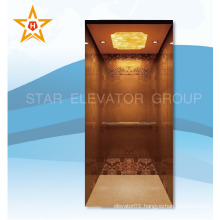 Home lift elevator with nice decoration