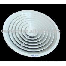 Aluminium runden Luftverteiler für Belüftung