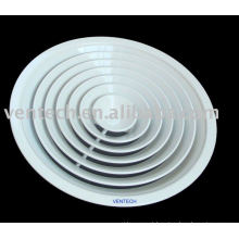 difusor de ar circular de alumínio para a ventilação do ar