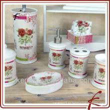 Productos de baño de cerámica decorativos calientes del regalo de la porcelana moderna