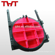 ductile iron round shape penstock valve for water flood