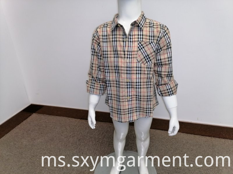 Boy's cotton shirt