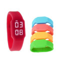 Colorido reloj LED de silicona USB Stick de 2 gb