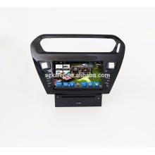 GPS de navegación / coche Reproductor de DVD / Auto GPS + espejo Enlace + FM + BT manos libres + Navegador GPS inteligente para Peugeot 301