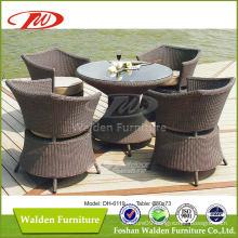 Wicker Furniture Rattan Dining Set (DH-6119)